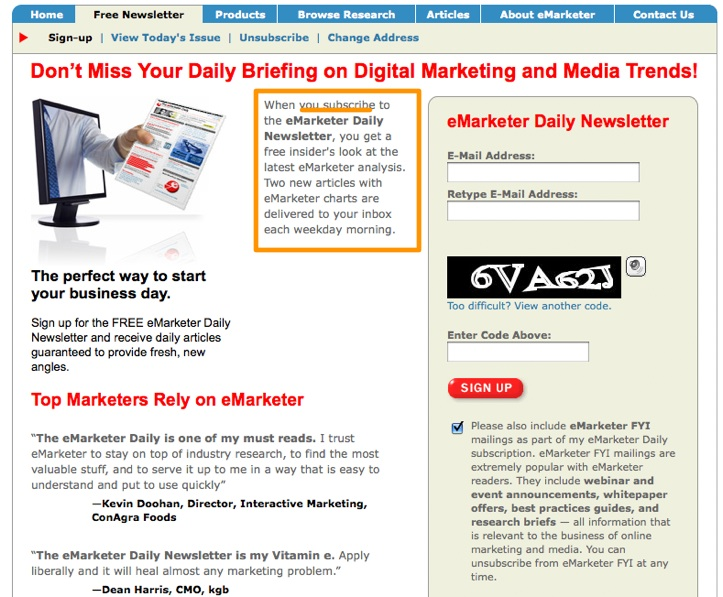internet-marketing-free-newsletter-emarketer-daily-articles-charts-e-business-emarketer